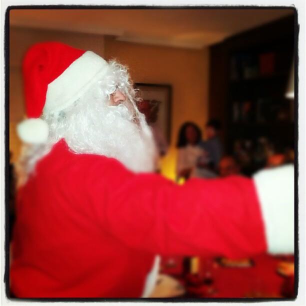 El más eficaz estimulador neuronal de los más pequeños...HO HO HO! #navidad2012