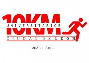 Logo de los 10 kilómetros universitarios de León 2013