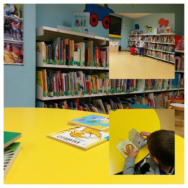 Tarde en la biblioteca #leonesp