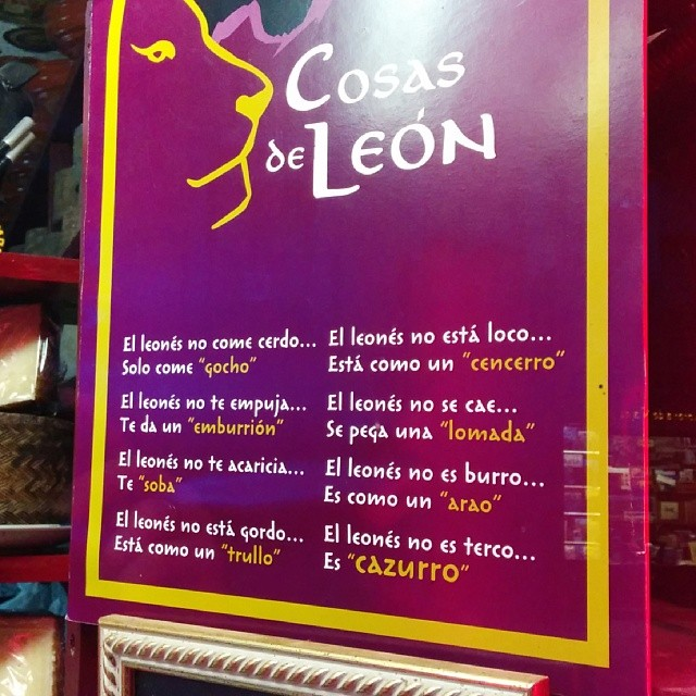 Cosas de León #frases #leonesp
