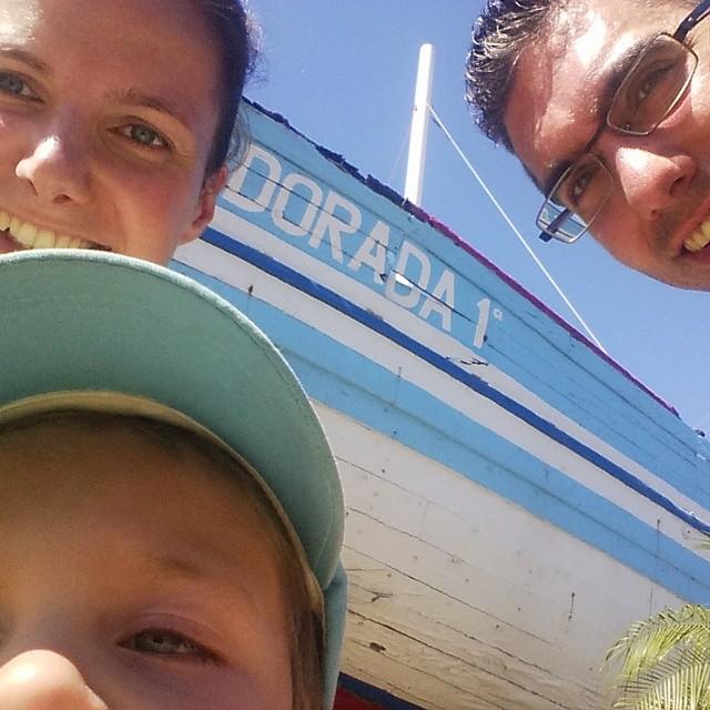 Del barco de Chanquete ¡NO NOS MOVERÁN! #nerja