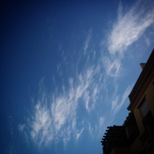 Clouds or flames? #sky #Granada