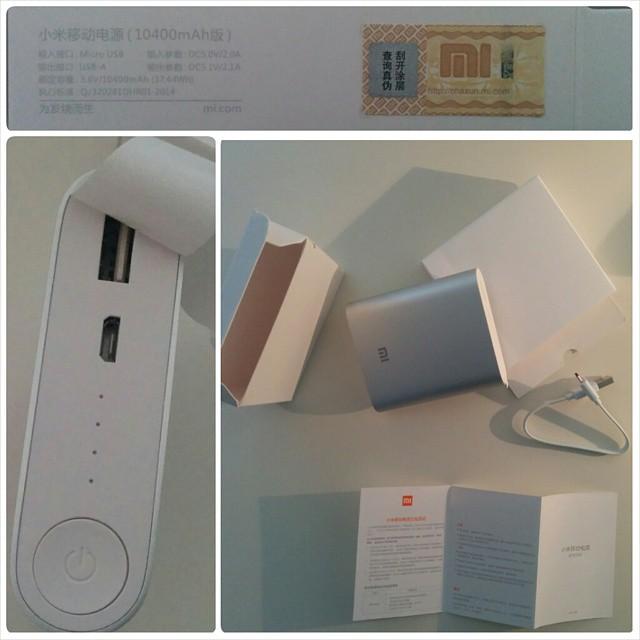 Unboxing de la #Xiaomi #PowerBank de 10400mAh