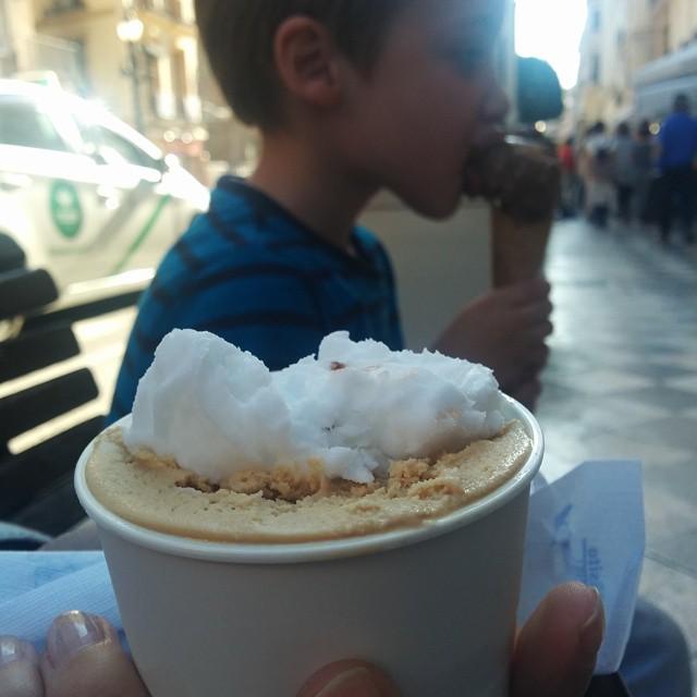 ¡Toca helado! #Granada #sinfiltros