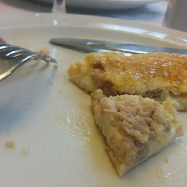 ¿Adivináis qué ingredientes lleva la Tortilla de Sacromonte? #Granada