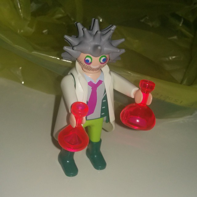 Ya tengo Playmobil personalizado  #scienceeverywhere
