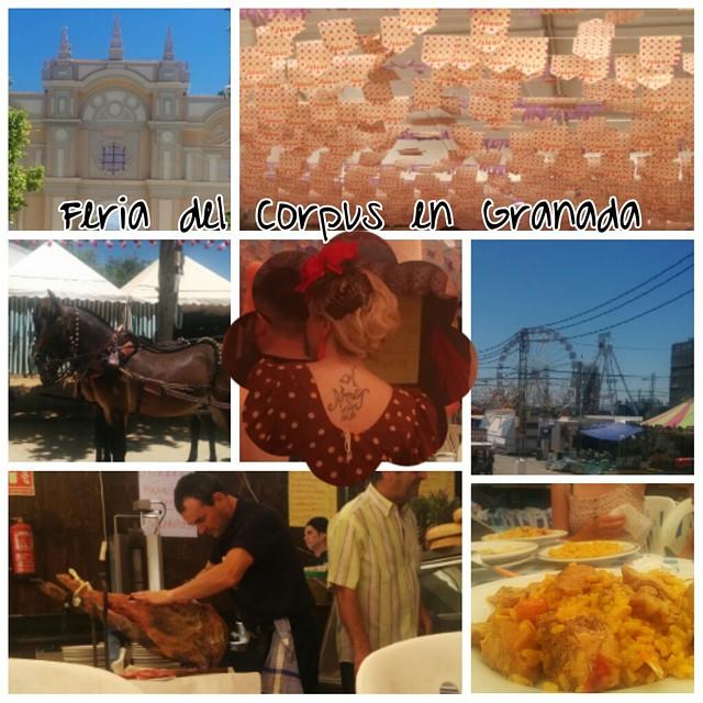 Feria del #Corpus en #Granada