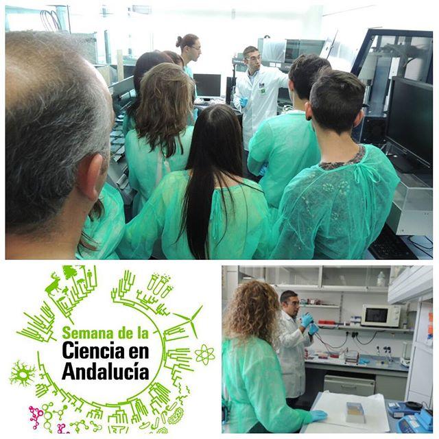 Abriendo las puertas del laboratorio para la #semanadelaciencia