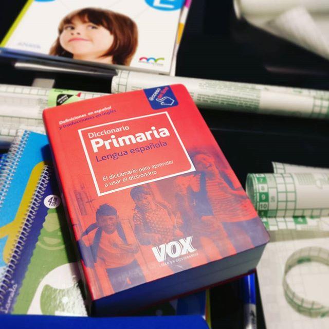 ¿Os acordáis de vuestro primer diccionario Vox? Cómo cambia todo. #VueltaAlCole #educacion