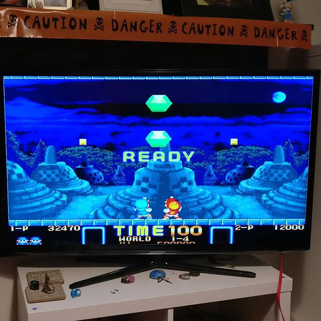 Bonus level... READY? #superpang #retrogaming #raspberrypi #recalbox