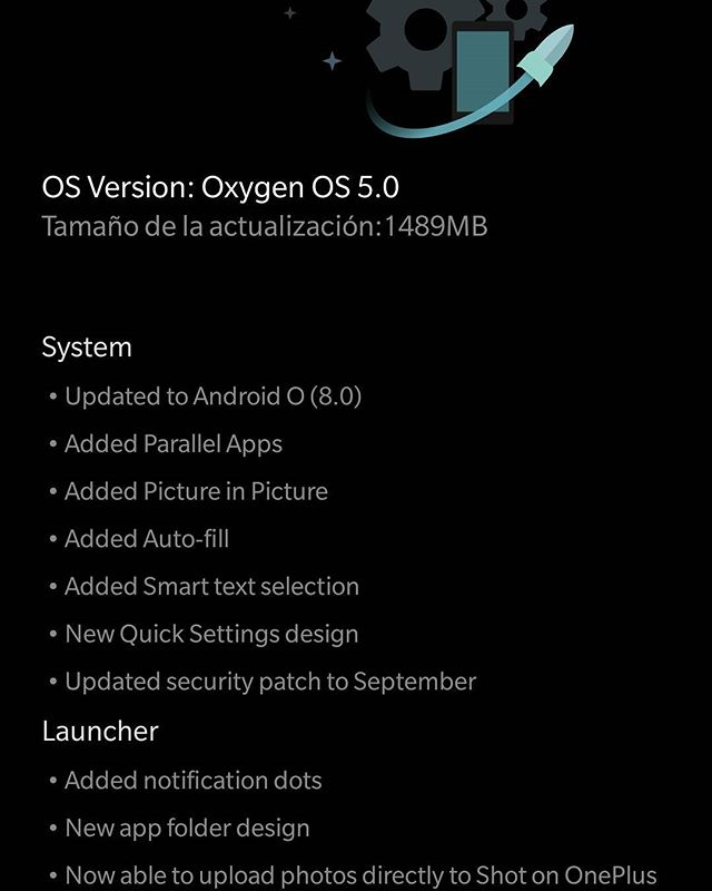 Y, entonces, ¡llegó Oreo! #android #oneplus #oneplus3