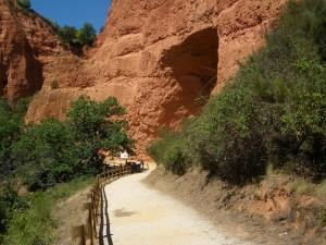 Vista de una de las Cuevas y lugar de nuestro almuerzo ;D.
