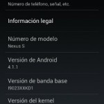 Actualizar Nexus S a Jelly Bean (Android 4.1) con root desde CM9