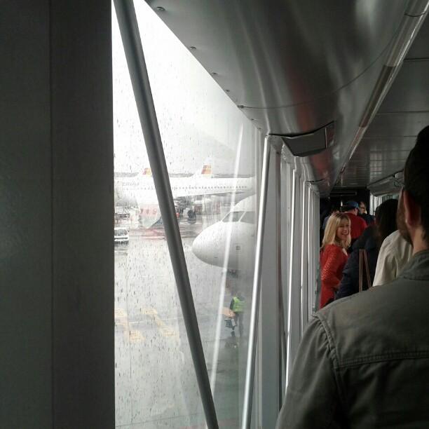 Llegando al Stage 4 rumbo a las #jpod12: in the air.