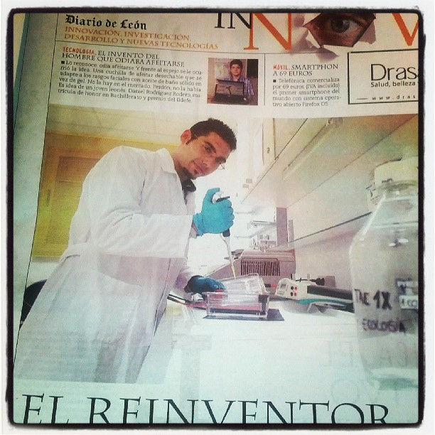 Acaparando portadas de suplementos científicos :D #ciencia