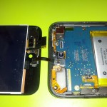 Reparación de la pantalla destrozada de mi iPod 4G