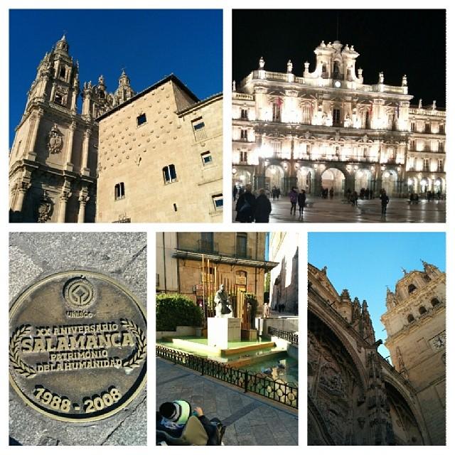 Paseando por #Salamanca