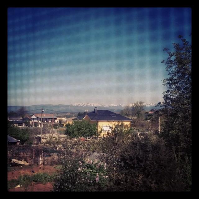 Desde la ventana #paisaje #elBierzo