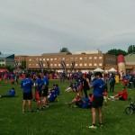 Así se sigue la fiesta de los @10kmULE en #leonesp #running