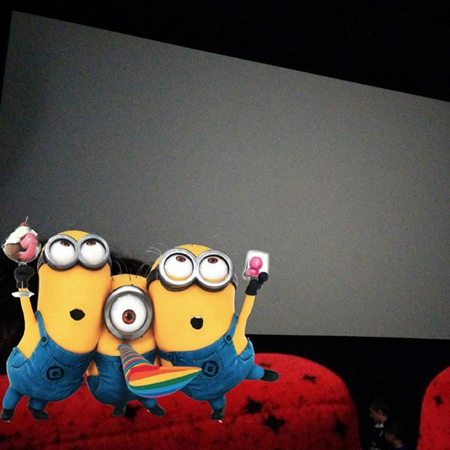¡Toca cine! #Minions