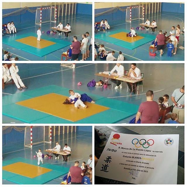 Su primer pase de grado #judo #deporte