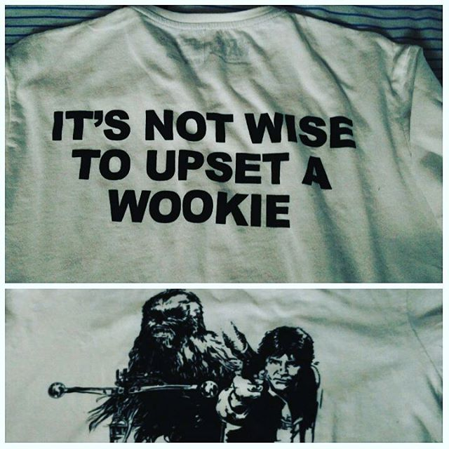 It's not wise to upset a Wookie #gift #starwars