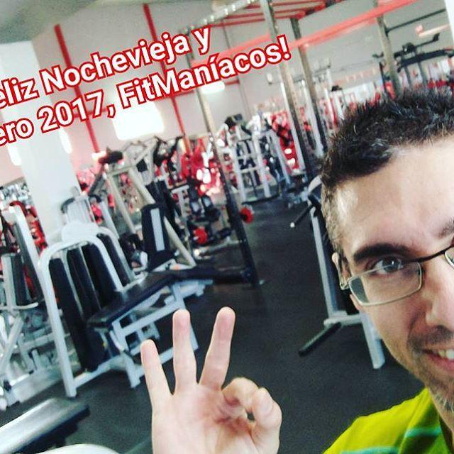 El último día del año, cerrando el gimnasio. ¡Como debe ser!  #Fitness #FelizNavidad #happy2017