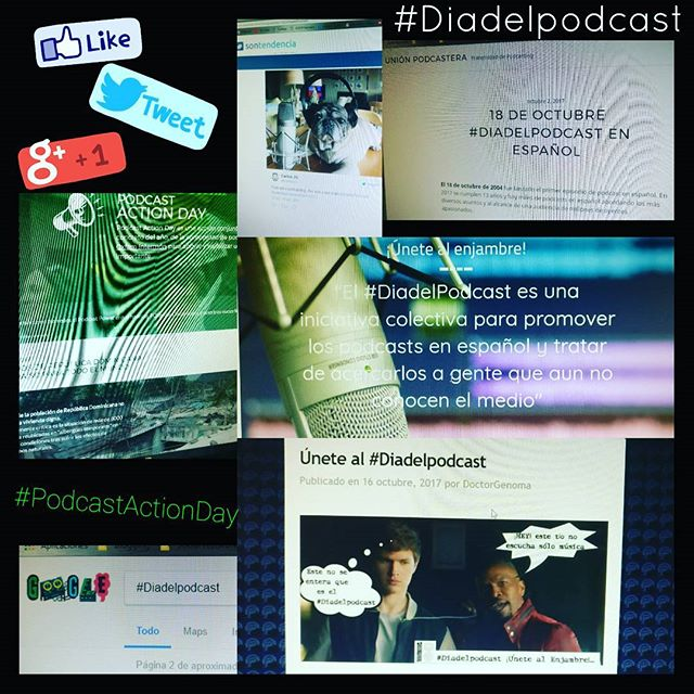 El podcasting es tendencia #Diadelpodcast #PodcastActionDay #podcasting #entretenimiento #cultura