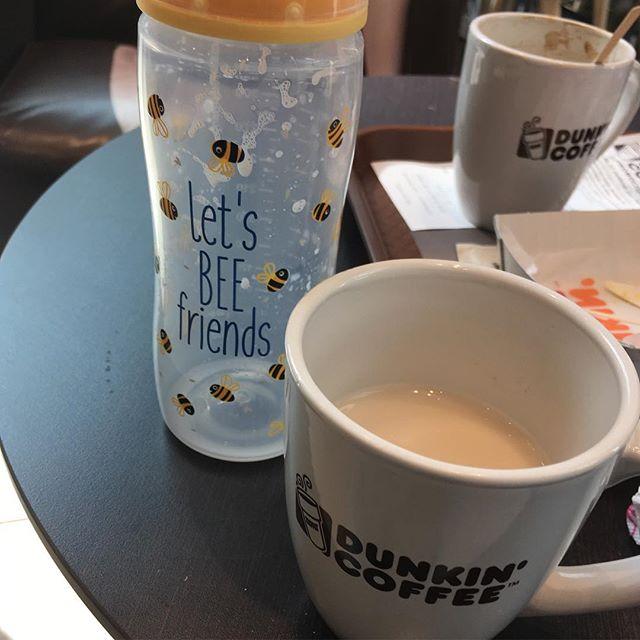 Un #relaxtime compartido: donde un té se mejora con las sobras de los mellizos ️+🍼=