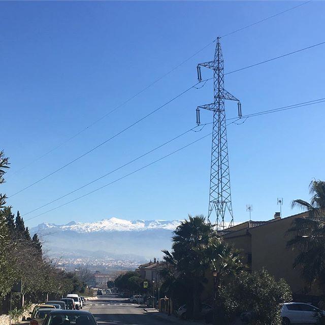 Todos los años fotografío #SierraNevada. Pero esta imagen muestra los contrastes del paisaje de La Vega granaína #igers #igersgranada #igersspain