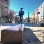Ahí está. A coger la manzana por el rabo. ¡Con un par! #Granada #cosasquepasan #moments