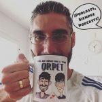 El café de hoy es estilo @currupeters #podcastinglife