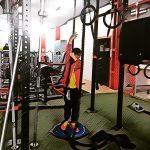 Hoy #juevessanto hemos tenido una mañana en familia en el gimnasio #fitness #aprendiendo #enseñando #control