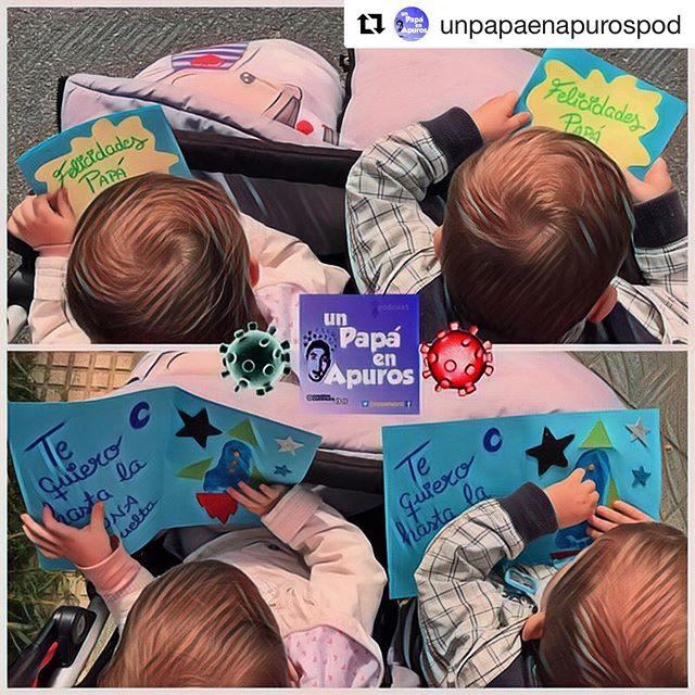 #Repost @unpapaenapurospod Se ha adelantado el Día del padre #coronavirus #covid_19 #diadelpadre #quedateencasa