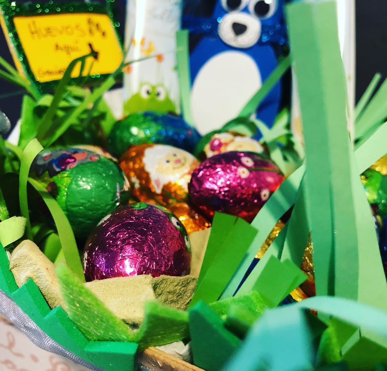 ¡Han llegado los huevos de Pascua! #eastereggs