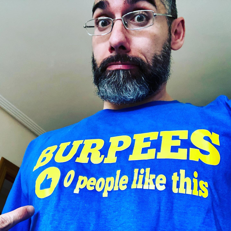 Creo que tenía que haberme puesto esta camiseta por la mañana prontito